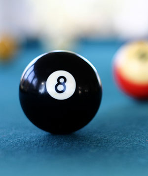 Do you feel you are behind the 8ball?