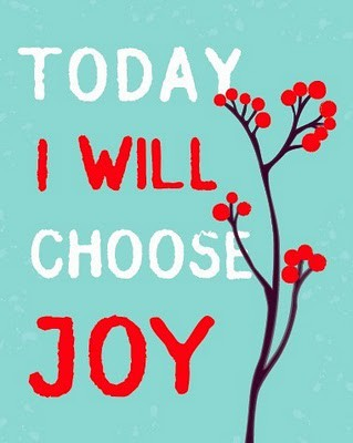 Start living in your joy today by focusing on what works.